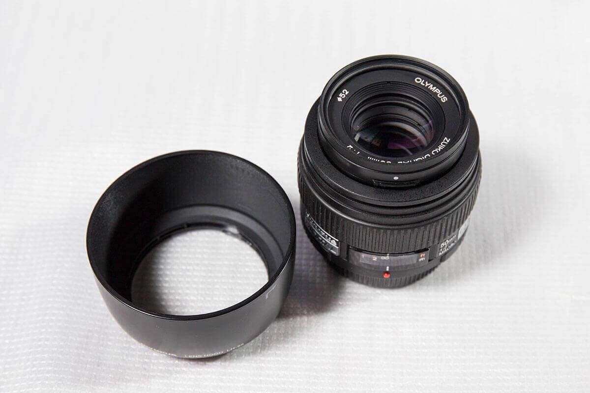 オリンパス 50mm F2.0
