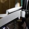 4Kモニター使用におすすめ!27インチにも使えるグリーンハウス4軸2画面モニターアームGH-AMCA03レビュー